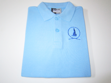 Great Wakering P.E. Polo Shirt - Sky Blue